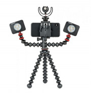 JB01533-BWW KIT GORILLAPOD MOBILE RIG NERO ACCESSORI FOTOGRAFIA E VIDEO