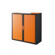 EASY OFFICE MOBILE 1MT NERO+ARANCIO ANTE SCORR