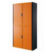 EASY OFFICE MOBILE 2MT NERO+ARANCIO ANTE SCORR