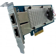 DUALPORT 10GBASE-T NW EXP CARD F TOWER + RM DESKTOP BRACKETS