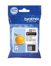 BROTHER LC-3211BK INK JET NERO