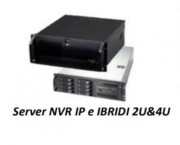 SERVER NVR 2 UNITÀ RACK