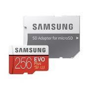 MICRO SD CARD 256GB EVO+ .