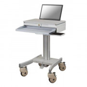 MOBILE LAPTOP CART 10-22IN MONITOR KEYBOARD/MOUSE SUPPORT