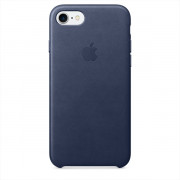 iPHONE 7 LEATHER CASE - MIDNIGHT BLUE