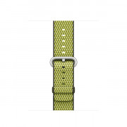 38MM DARK OLIVE CHECK WOVEN