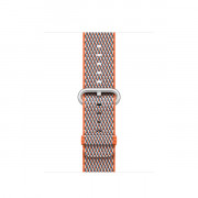 ¿42MM SPICY ORANGE CHECK WOVE