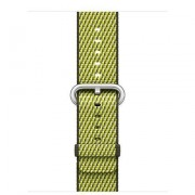 ¿42MM DARK OLIVE CHECK WOVEN