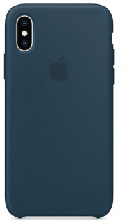 iPhone XS Max Silicone Case - Pacific Green