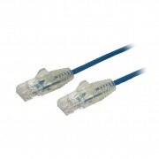 1M SLIM CAT6 CABLE - BLUE SNAGLESS - 28 AWG COPPER WIRE