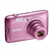 COOLPIX A300 PINK 20.1 CCD 8X L-VR 720P 2.7IN 1600 IN