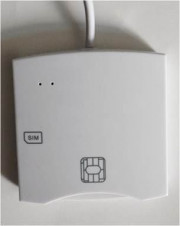 LETTORE SMART CARD + SIM CARD