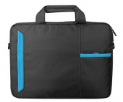 NOTEBAG 15.6P BLACK/BLUE