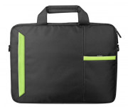 NOTEBAG 15.6P BLACK/GREEN