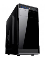 CASE MICRO ATX 4-USB3 500W CARD R.