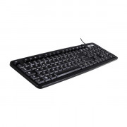 KEYBOARD KT40U USB BLACK