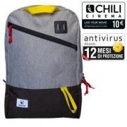 Nilox ZAINO NOTEBOOK 15.6'' GREY YELLOW