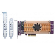 Qnap DUAL M.2 PCIE SSD EXPANS CARD SUPPORTS UP TO 2 M.2 2280/22110  IN
