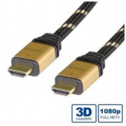 TOP HIGH SPEED HDMI CABLE WITH ETHERNET GOLD M / M 15M
