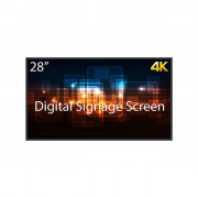SDS28K8 4K Display 28 Monitor Digital Signage
