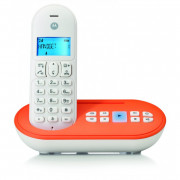TCT111OR MOTOROLA T111 CORDLESS DECT WHITE/ORANGE