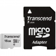 TS16GUSD300S-A 16GB UHS-I U1 MICROSD WITH ADAPTER Flash
