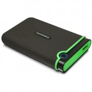 Transcend STOREJET 25M3S HDD PORTATILE 1TB 2.5IN USB 3.0 IRON GRAY SLIM IN
