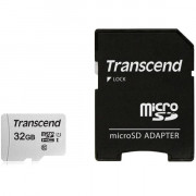 TS32GUSD300S-A 32GB UHS-I U1 MICROSD WITH ADAPTER Flash