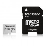 TS64GUSD300S-A 64GB UHS-I U1 MICROSD WITH ADAPTER FLASH