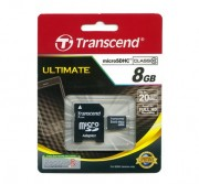 Transcend TRANSCEND MICRO SD 8GB 2 IN 1 HC10