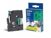 TZE-721 LAMINATED TAPE 9MM 8M BLACK ON GREEN