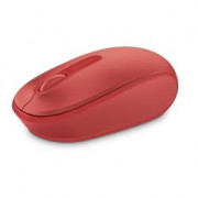 1850 OPTICAL WIRELESS MBL MOUSE RED MICROSOFT H&R