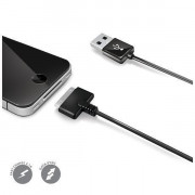 30 Pin Cable USB DATA IPHONE 4/4S BLACK