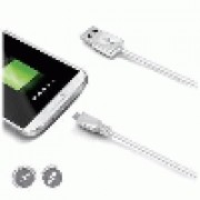 USB DATA CABLE MICROUSB WHITE