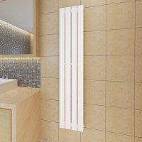 vidaXL Panel calefactor blanco 311mm x 1500mm