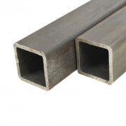 Tube Section carrée Acier de construction 6 pcs 1 m 25x25x2 mm