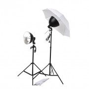 Kit studio 2 lampes daylight & accessoires
