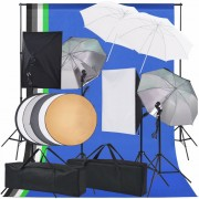 Kit d'éclairage de studio photo