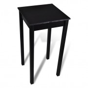 Table de bar Noir MDF 55 x 55 x 107 cm