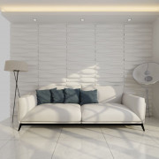 Panel De Pared 3D Ola 0,625 M x 0,8 M 12 Paneles 6 M²