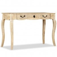 Table console Bois de manguier massif 120 x 50 x 80 cm