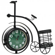 Horloge à double Face Tricycle Vintage