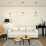 Panel de pared 3D 12 unidades 0,8x0,625 m 6m²