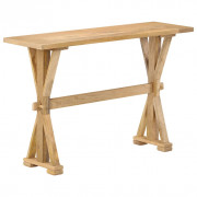 Table console Bois de manguier massif 118 x 35 x 76 cm