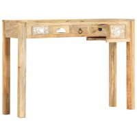Table console 110 x 30 x 75 cm Bois de manguier massif
