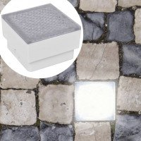 Lámparas LED empotrables 6 unidades 100x100x68 mm