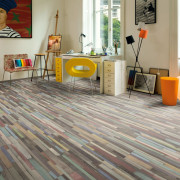 Planches de plancher stratifié 37,2 m² 7 mm Coloured Dimas Wood