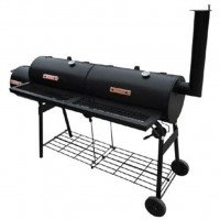VidaXL Barbecue con Affumicatore Nevada XL Nero