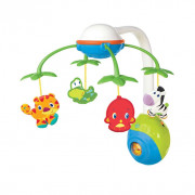 Móvil musical Soothing Safari multicolor K8352