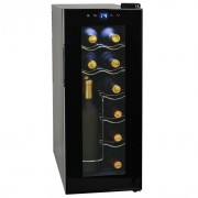 Cantinetta per Vini Frigo Bar 35 L 12 Bottiglie Display a LCD